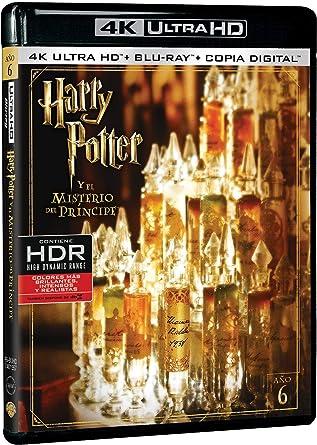 Harry Potter Y El Misterio Del Príncipe 4K Ultra HD Blu-ray ...