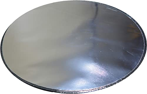 Newtex FirePad Deck Protector 36 , Fire Pit High Temp Mat, Bonfires, Lawn, Patio, Chiminea, Deck Defender, Under Grill Mat, BBQ Mat, Heat Shield, Fire Resistant Pad for Outdoors