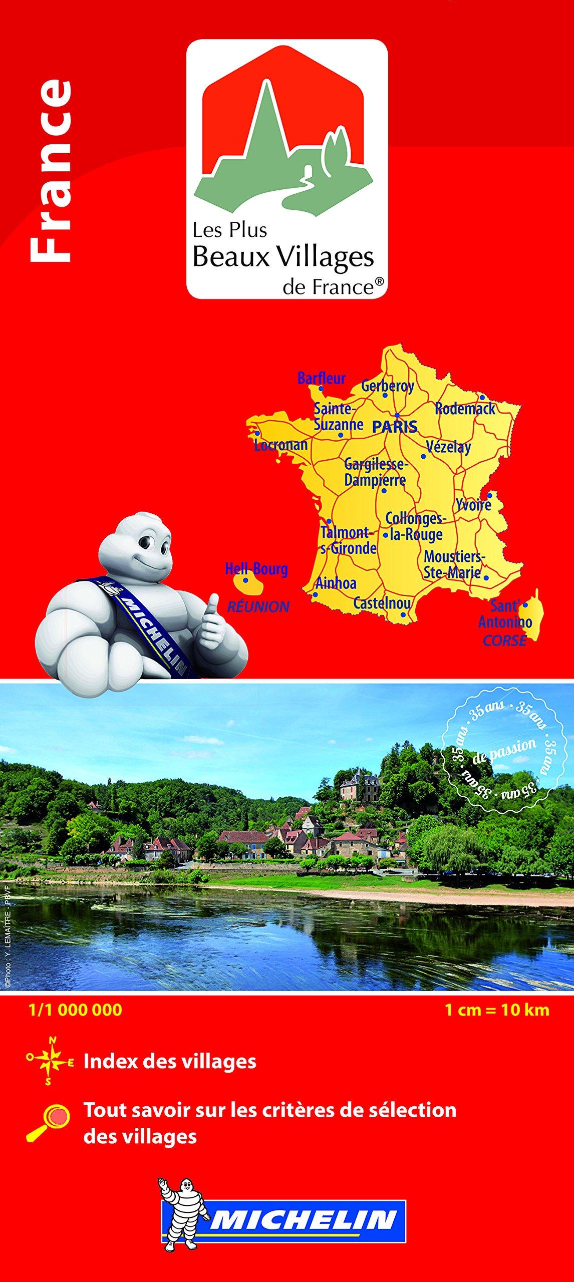 PLUS BEAUX VILLAGES FRANCE 31105 CARTE MICHELIN KAART