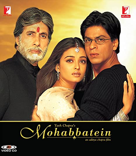 Image result for COPYRIGHT FREE IMAGE OF AMITABH BACHCHAN FILM MOHABBATEIN