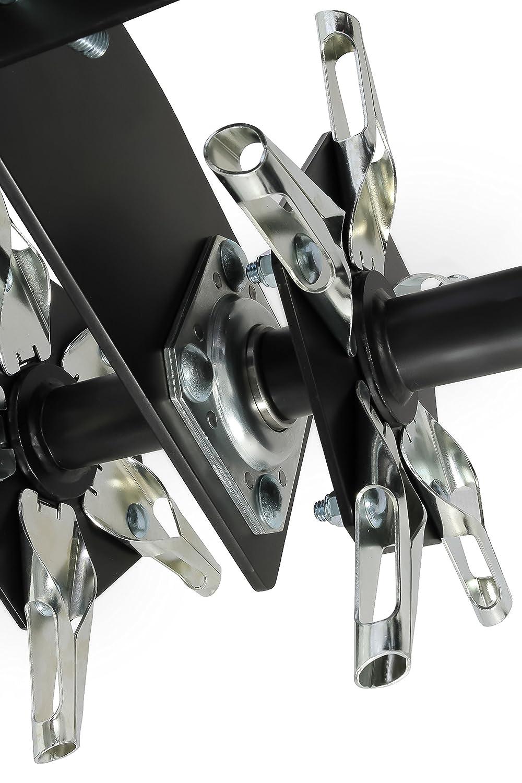 Camco Black Boar ATV//UTV Disc Harrow Implement with Adjustable Sides