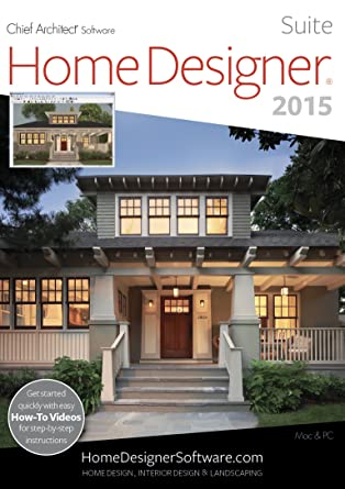 Amazoncom Home Designer Suite 2015 Download Software