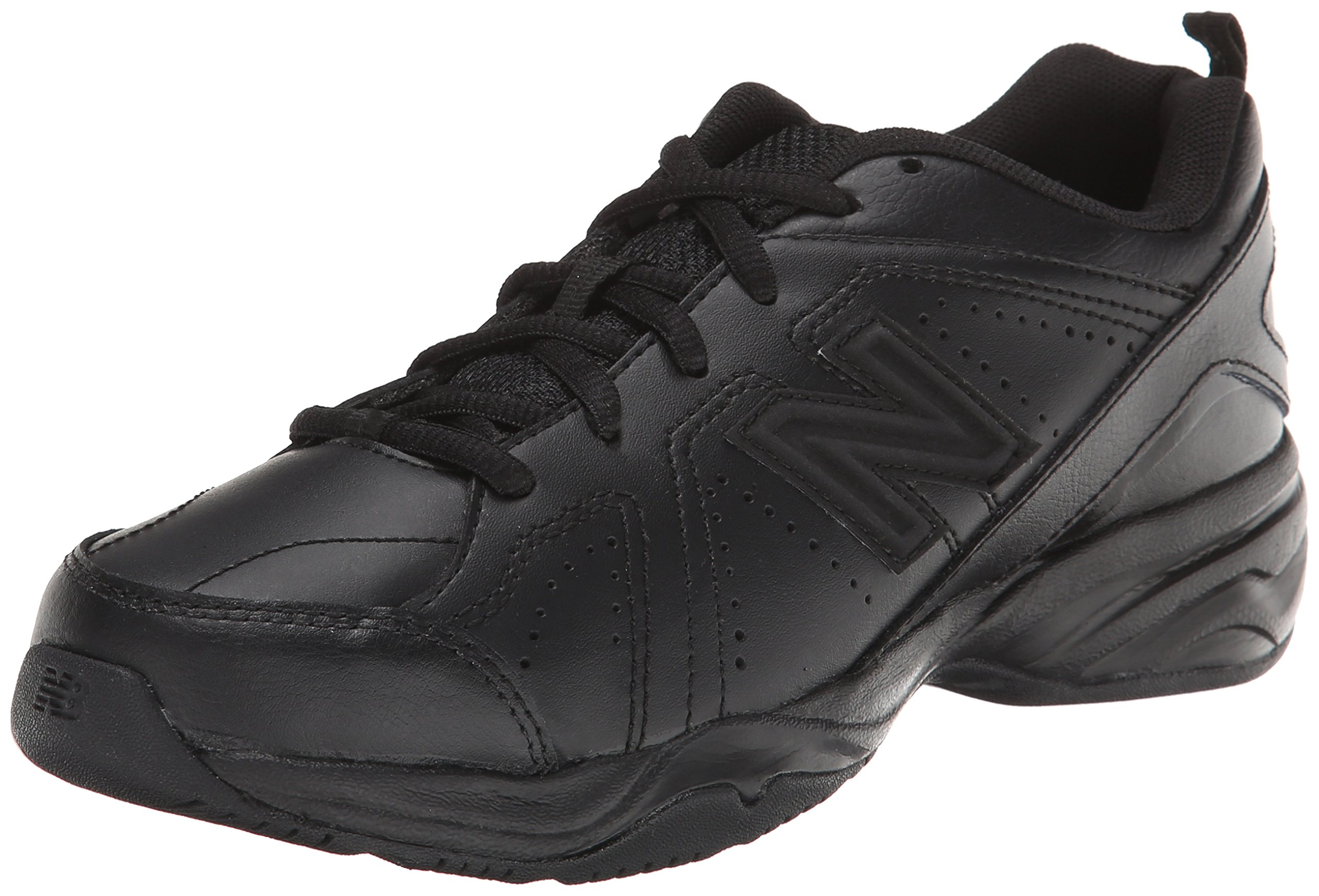 New Balance KX624 Lace-Up Training Shoe (Little Kid/Big Kid),Black,11.5 M US Little Kid