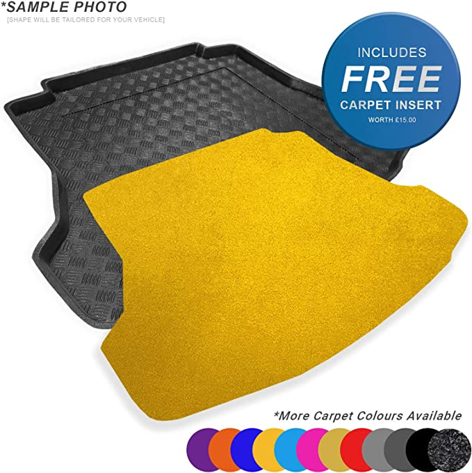CARMATS4U.COM Fully Tailored PVC Boot Liner//Tray 100463 FREE Anthracite Carpet Insert