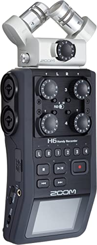 Zoom H6 6-Track Portable Recorder