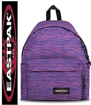 Eastpak Mochila Escolar Padded Pak r Knit Pink Rosa Morado Tiempo Libre