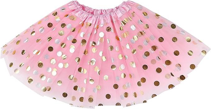 Pink Polka dot Petticoat Tutu