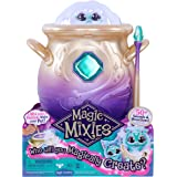 Magic Mixies Magical Misting Cauldron with Interactive 8 inch Blue Plush Toy and 50+ Sounds and Reactions, Multicolor