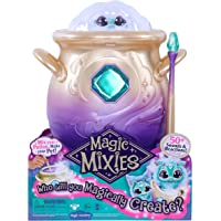 Magic Mixies Magical Misting Cauldron with Interactive 8 inch Blue Plush Toy and 50+ Sounds and Reactions