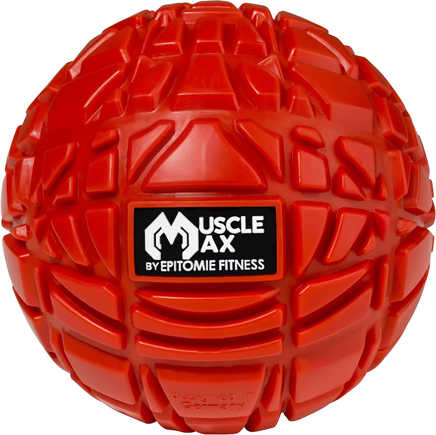 Muscle Max Massage Ball - Therapy Ball for Trigger Point Massage - Deep Tissue Massager for Myofascial Release - Mobility Ball for Exercise & Recovery: Health & Personal Care