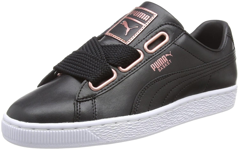 8ef072dffb135 Puma Women's Basket Heart Leather WN's Low-Top Sneakers