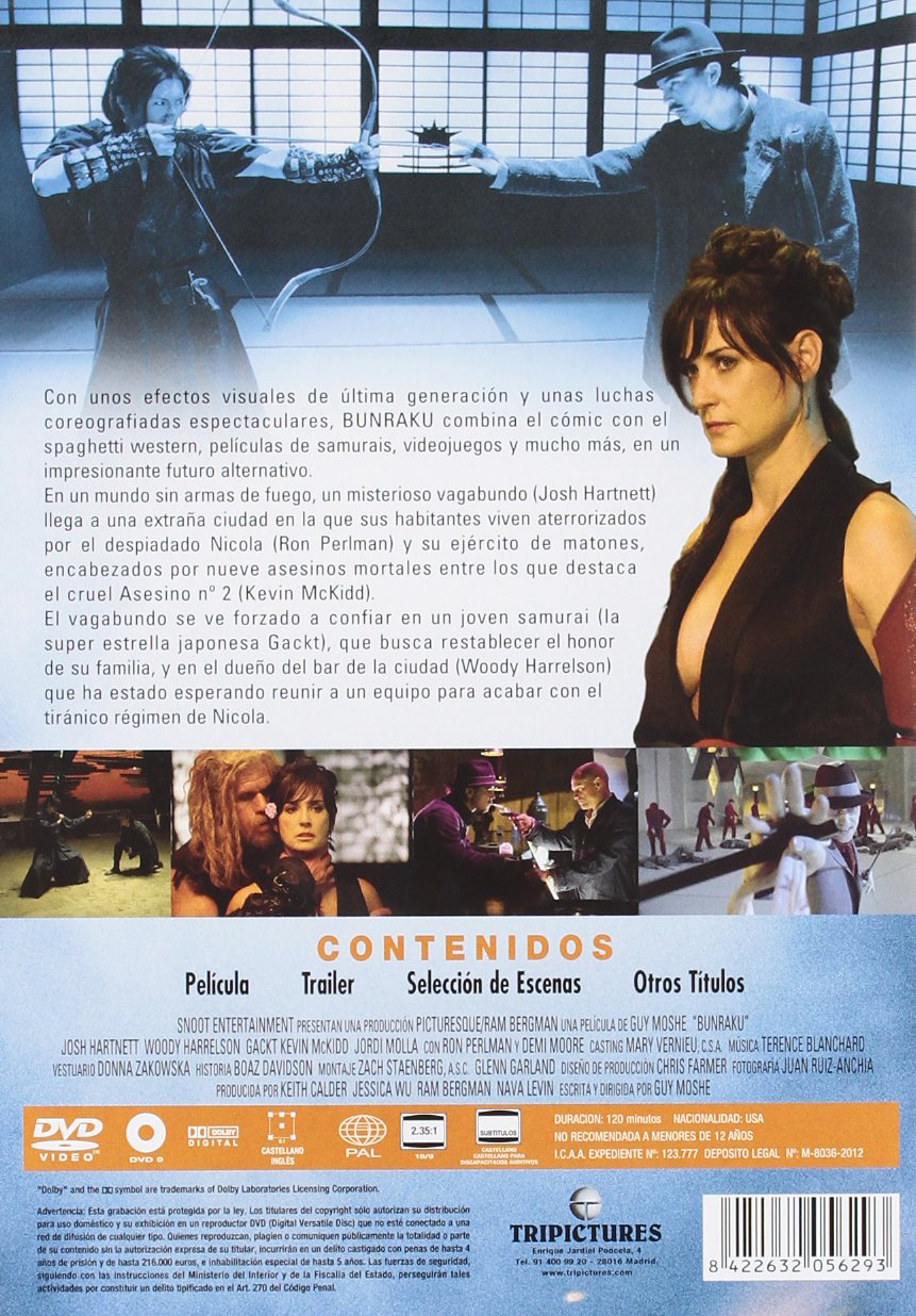 Amazon.com: Bunraku [Import espagnol]: Movies & TV