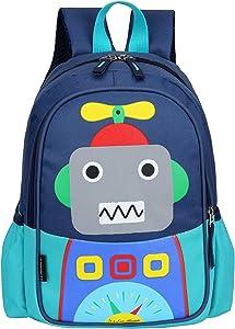 Kids Backpack Schoolbag Lightweight Children Elementary School Bag Large Capacity Preschool Kindergarten Book Travel Bag