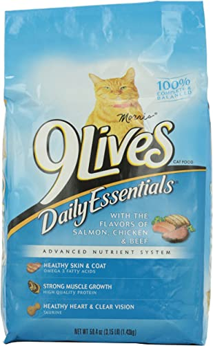 9 Lives Cat Food Daily Essentials, 3.15 lb
