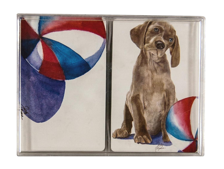 comodamente Rainbow Card Company Double Deck Deck Deck Playing Cards – Sammy e Beach Ball  100% nuovo di zecca con qualità originale