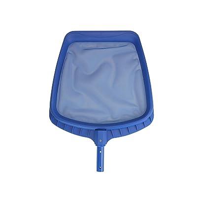 "21.5"" Blue Heavy-Duty Swimming Pool Leaf Skimmer Head : Garden & Outdoor"