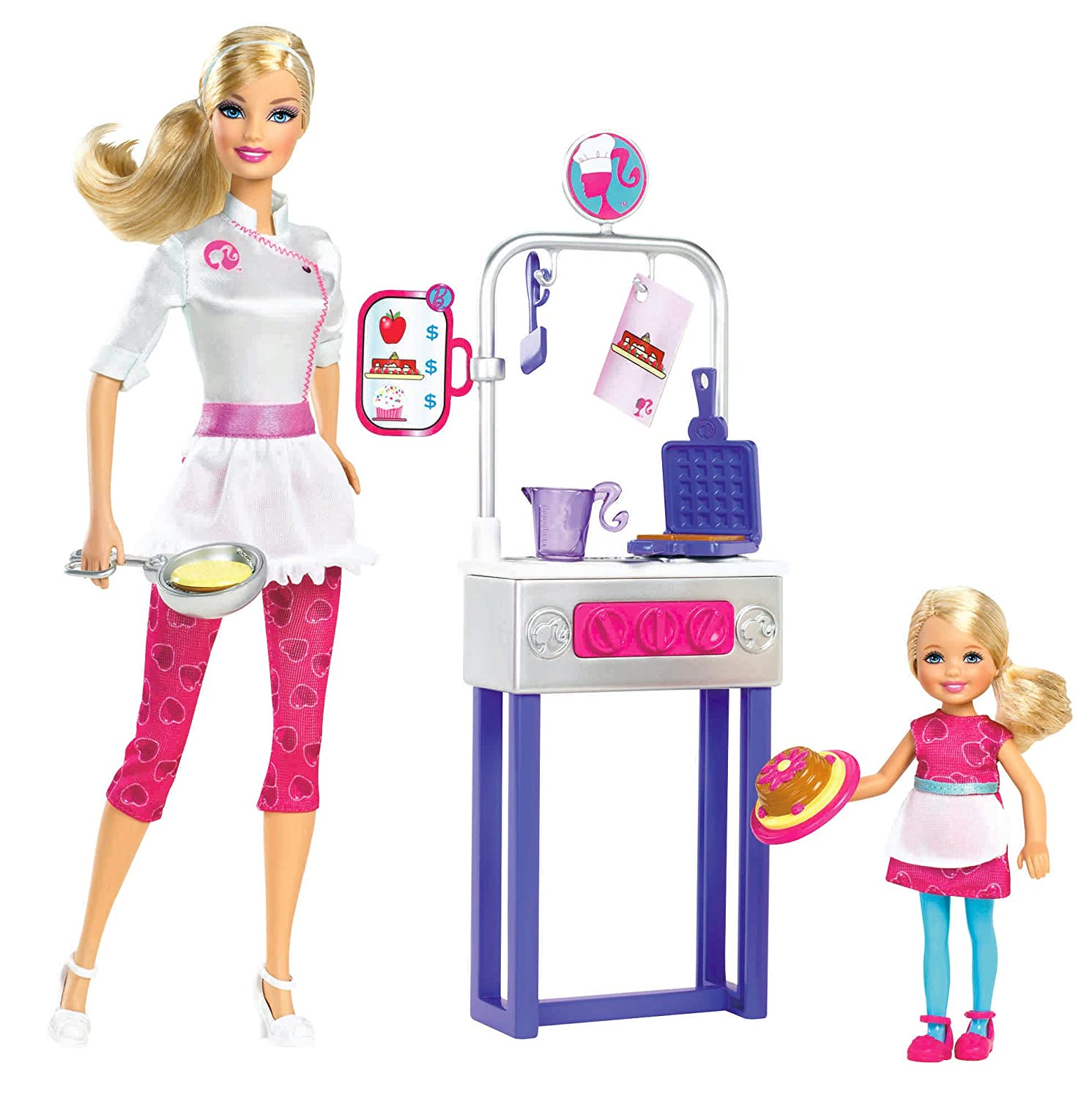 Amazon.com: Barbie I Can Be Pancake Chef Doll Playset: Toys & Games