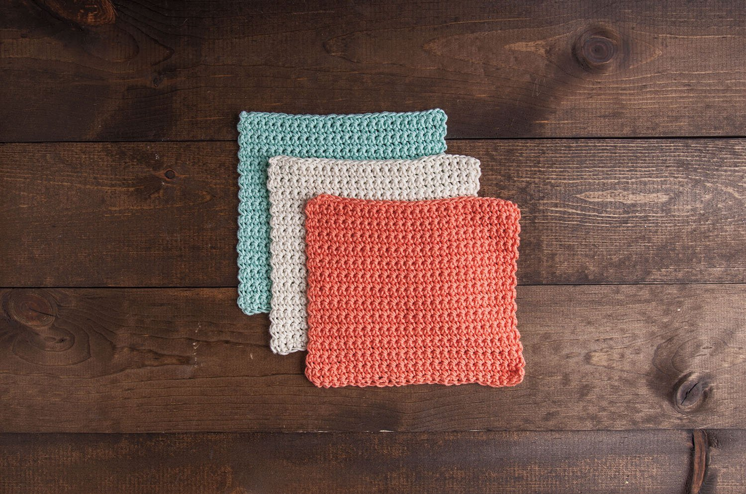 Learn to Crochet Kit: Dishcloth (Original) by KnitPicks (Image #3)