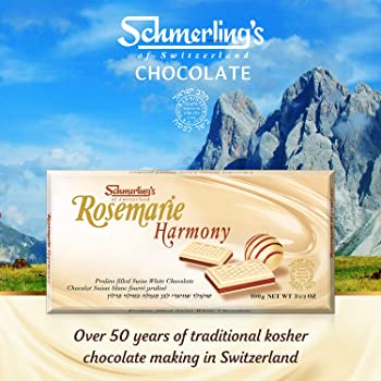 5-Pack Schmerling's Rosemarie Harmony White Chocolate Bars