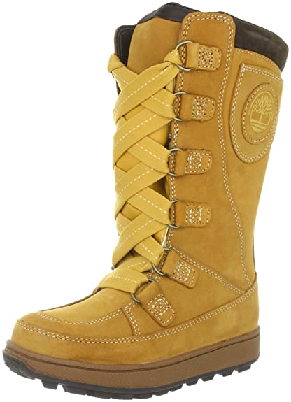 66ecb1d28a1 Timberland Mukluk Lace-Up Waterproof, Girls' Snow Boots: Amazon.co ...