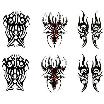 Amazon.com  MuseM Fine Temporary Tattoos (Set of 6) Tatto