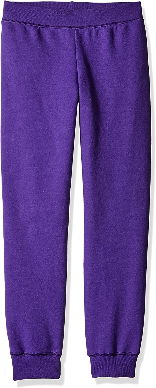 Hanes Big Girls ComfortSoft EcoSmart Fleece Jogger Pants