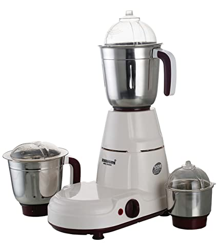 68ea4601f9a Buy SOWBAGHYA Stylus 550 Watts Mixer Grinder (Multicolour) Online at Low  Prices in India - Amazon.in