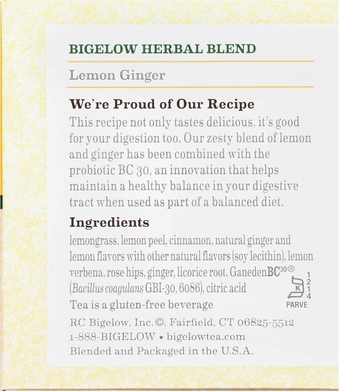 Bigelow Herbal Tea 6 Flavor Variety Pack, Caffeine Free Herbal Teas, 118 Tea Bags Total : Herbal Teas : Grocery & Gourmet Food