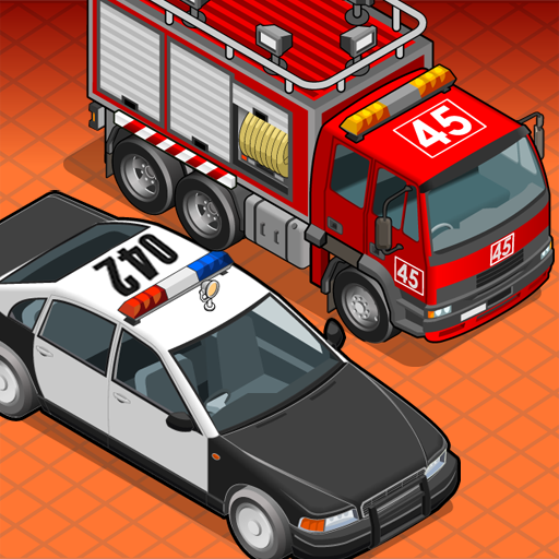 (Police Car & Fire Truck Builder FREE)