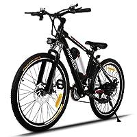 Ancheer Vélo Electrique Pliable Intelligent avec APP de Réglage de la Vitesse et la Charge Rapide 36V 350W Noir