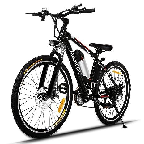 Ancheer Bicicletta Elettrica Della Montagna 250w Mountain Bike E