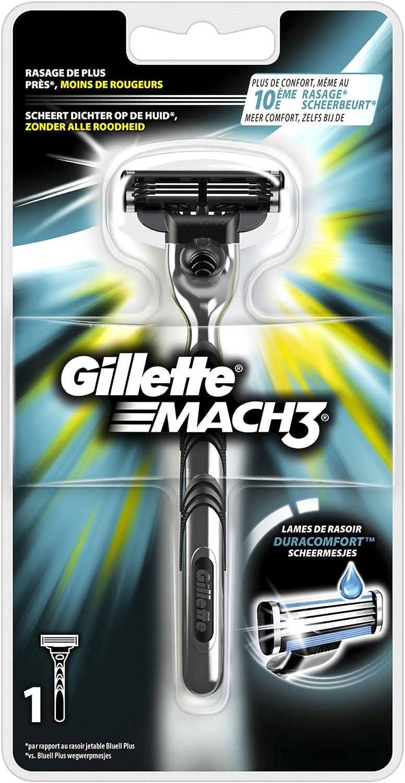 Gillette Mach3 - maquinilla de afeitar: Amazon.es: Salud y cuidado ...