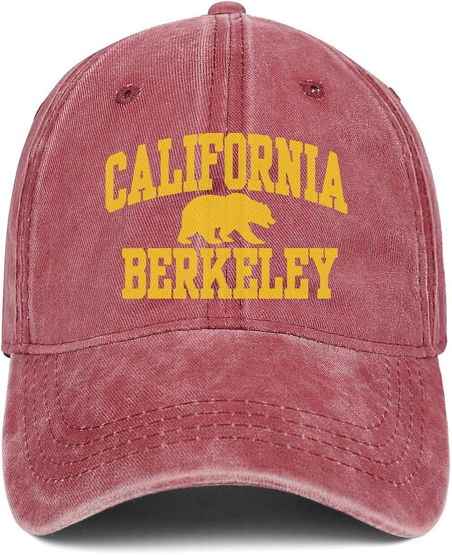 SNEFUEE Mens Woman California Berkeley Cap Fashion Denim Cowboy Hats Running Caps