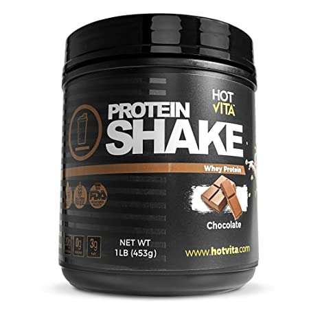Hot Vita Meal Replacement Protein Shakes for Women – Gluten Free, Non-GMO, Meal Replacement Protein Powder for Weight Loss Chocolate