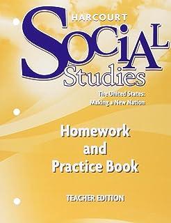 Harcourt social studies teacher edition volume 1 grade 5 united harcourt social studies homework and practice book teacher edition grade 5 us making a fandeluxe Gallery