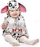 Ciao Baby Dalmata Costume Tutina fagottino Disney, 6-12 Mesi Bambini, Bianco, Nero, 11256.6-12
