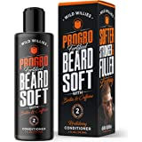 PROGRO Beard Growth and Revitalizing Conditioner - Fortified with Biotin & Caffeine - for Facial Hair Growth Conditioner & Softener - for Younger Looking Beard - (4oz) By Wild Willies