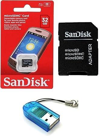 Sandisk 32G_TF_C4_R7 Memoria Flash 32 GB MicroSDHC Clase 4 ...