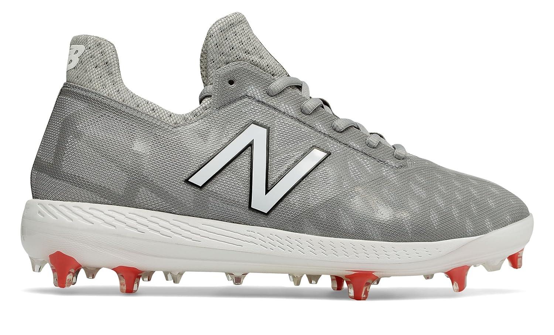(ニューバランス) New Balance 靴シューズ メンズ野球 NB COMP Grey with White and Red グレー ホワイト レッド US 15 (33cm) B078V2N6VZ