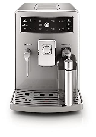 Saeco Xelsis Evo HD8954/47 - Cafetera (Independiente, Máquina espresso, 1,6 L, Molinillo integrado, 1500 W, Acero inoxidable): Amazon.es: Hogar