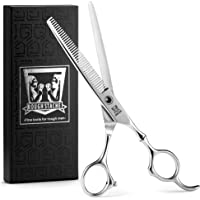 Professional Hair Scissors - Barber Hair Thinning Scissors 6.5-inch Razor Edge Hair Thinning - Texturizing Shears for Salon - Made from Stainless Steel with Fine Adjustment Screw