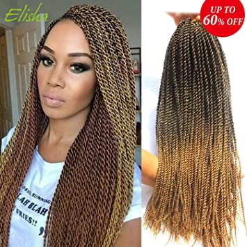 Amazoncom Senegalese Twists Style Crochet Braids Synthetic Hair 20