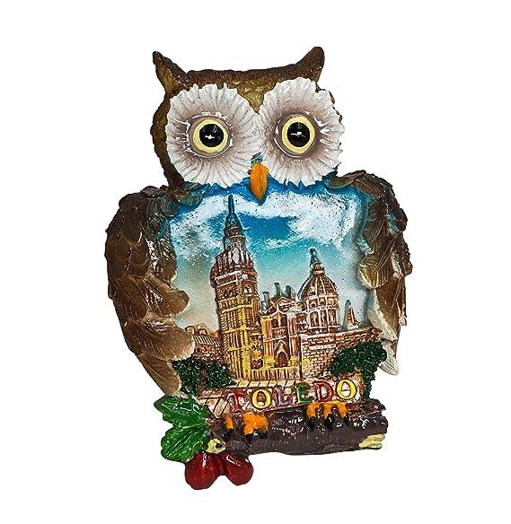zamonji Catedral de Toledo, Souvenir de España Imán de Nevera ...