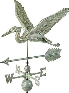 Good Directions, Inc. 9606V1A Heron Arrow Weathervane, Blue Verde