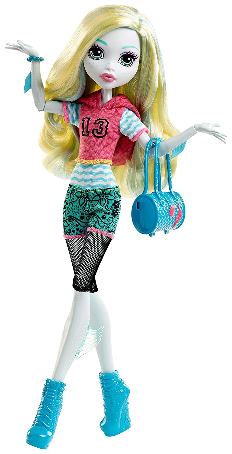 amazon com monster high signature look core lagoona blue doll toys