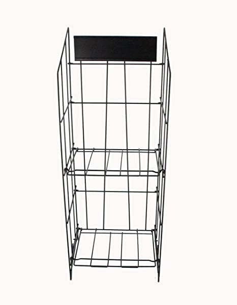 Newspaper Magazine Metal Wire Rack Display Stand 40 Amazoncouk Mesmerizing Wire Display Stands Uk