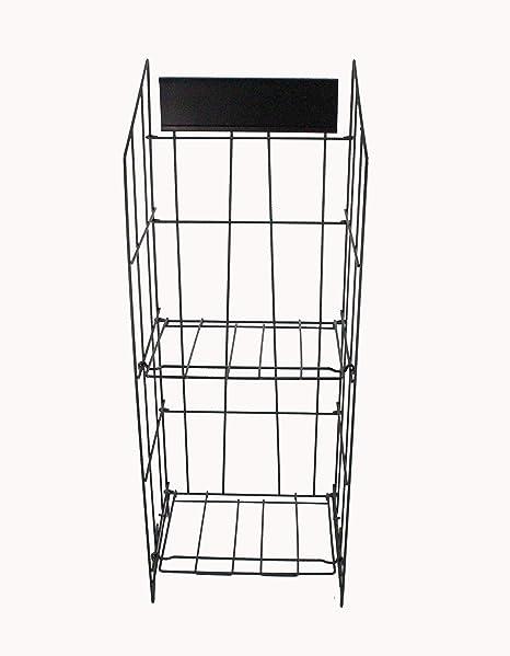 Newspaper Magazine Metal Wire Rack Display Stand 40 Amazoncouk Mesmerizing Wire Display Stands Uk