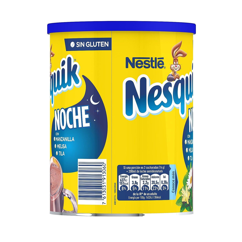 Nesquik Noche - Cacao Soluble Instantáneo - Pack de 2 x 400 g