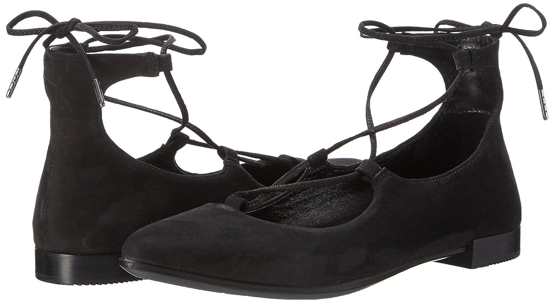 ECCO Women's Women's Shape Tie up Ballerina EU/7-7.5 Ballet Flat B01I6D1X7G 38 EU/7-7.5 Ballerina M US|Black 2edc6e