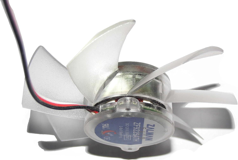 Zalman zf9225ath 12 V 0,35 A 3 Cable para CNPS9500 CNPS9700 LED ...